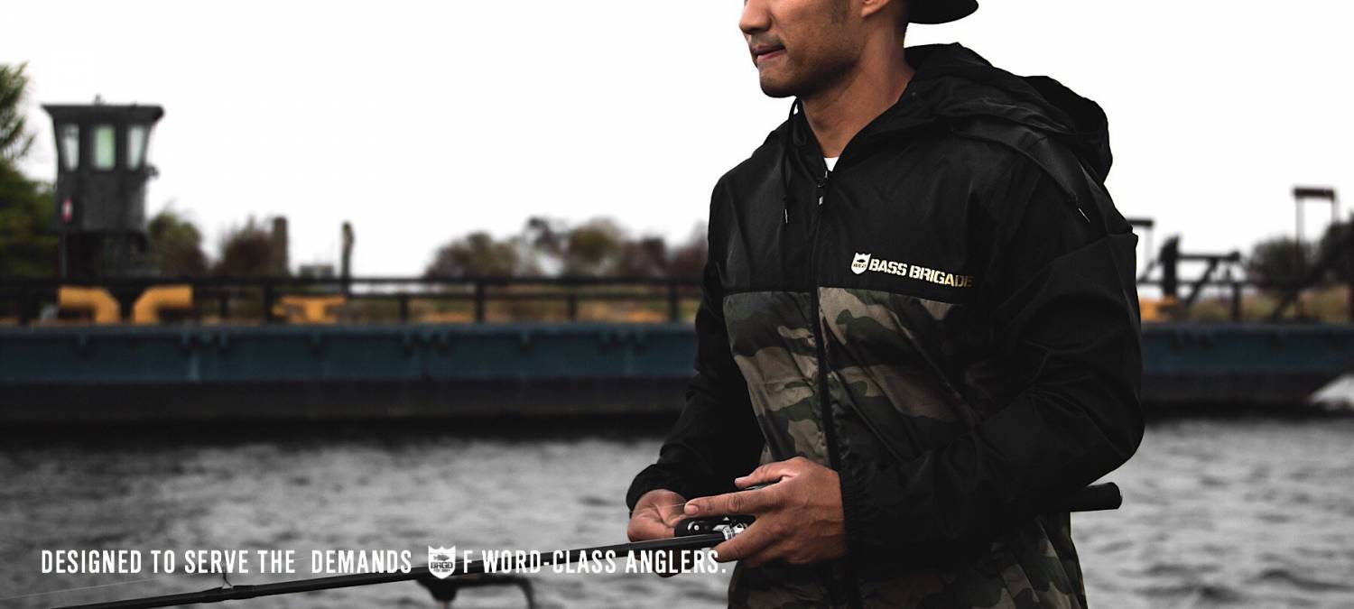 BASS BRIGADE EUROPE - Abbigliamento da pesca streetwear, Black Bass, Bass Fishing